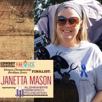 Janetta Mason is competing to win Alzheimer's Research Foundation $5,000 and you can help!